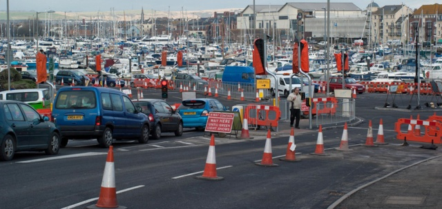 Weymouth endured years of cones and temporary traffic lights. Not all the 'improvements' were welcomed.