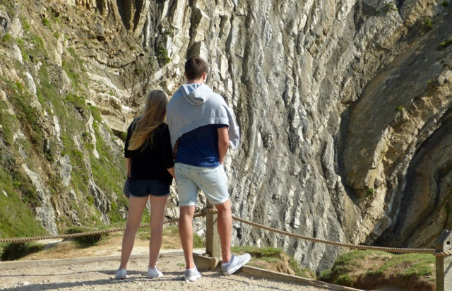 Geologists and fans of dramatic scenery love Lulworth