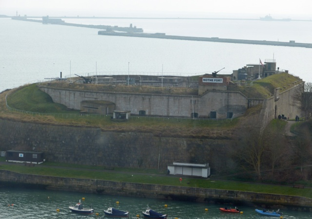 The Skyline gives a unique view of historic Nothe Fort