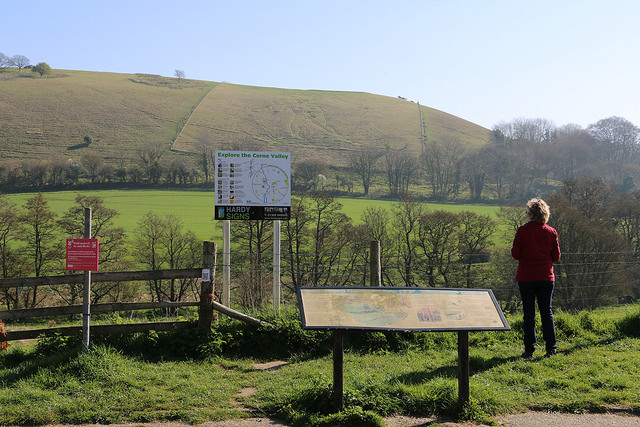 Cerne Abbas giant viewpoint