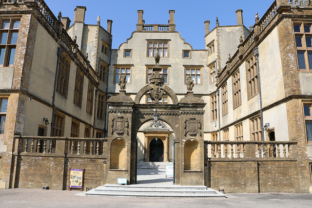 Sherborne Castle entrance